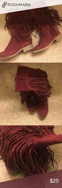 womens fringe boots size 9 carlos santana boots nwt carlos santana shoes carlos