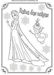 reine des neiges coloriages nounoudunordcenterblognetrub
