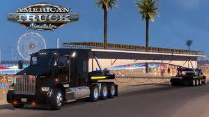 kenworth concrete truck american truck simulator oversize load concrete bridge cape