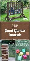 9 diy giant games tutorials family activities u0026 fun pinterest