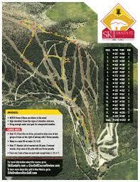 Santa Fe Map 18 Hole Ski Santa Fe Disc Golf Ski Santa Fe