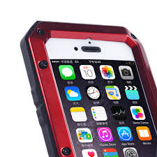 rugged aluminum metal bumper tempered glass water resistant