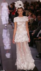 lively wedding dress poppy delevingne s chanel wedding dress is spitting image of