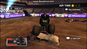monster truck video game play monster jam battlegrounds freestyle gameplay youtube