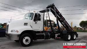 used mack trucks used 2009 mack roll off truck for sale youtube