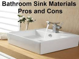 ceramic bathroom sinks pros and cons bathroom sink materials pros and cons png