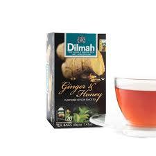 Teh Dilmah and honey flavoured tea 160 teabags flavoured tea dilmah