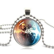 naruto pendant necklace images Naruto sasuke glass necklace free shipping worldwide jpg
