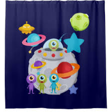 Outer Space Curtains Outer Space Shower Curtains Zazzle