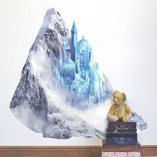 princess ice castle wall sticker by oakdene designs princess ice castle wall sticker