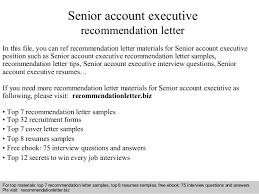 senior account executive recommendation letter 1 638 jpg cb u003d1408667943