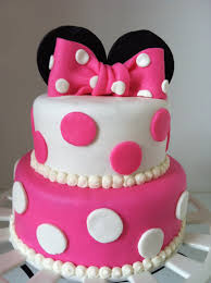 cake ideas for girl minnie mouse cake for birthday party decoration idea