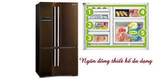 mitsubishi electric refrigerator tủ lạnh mitsubishi mr l78eh 635 lít nâu giá tốt tại nguyễn kim