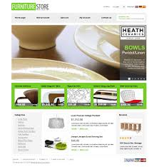 website design 26258 furniture store online custom website design