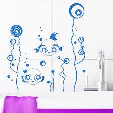 wandtattoos badezimmer süße badezimmer fische wandtattoo wandtattoo loft wandsticker