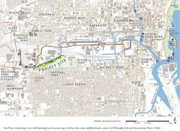 Map Of Milwaukee Asla 2011 Professional Awards Making A Wild Place In Milwaukee U0027s