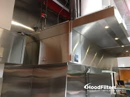 9 Type 1 mercial Kitchen Hood and Fan System
