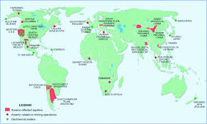 England On A World Map by Recent Advances In Electrochemical Detection Of Arsenic In
