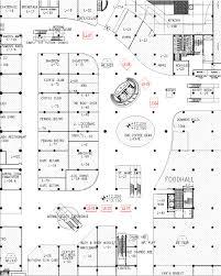 layout denah cafe lg floor senayan city