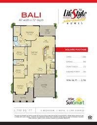 bali home floor plans
