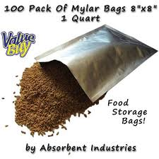 where to buy mylar bags packs 100pk of mylar 8 x 8 quart size bags walmart