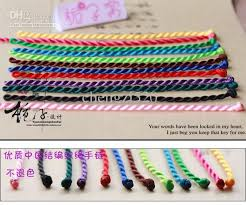 color string bracelet images Bracelets hand knotted rope hand catenary sports nylon cord jpg