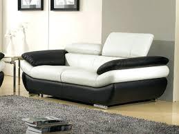 canap cuir orgullosa canape cuir noir 2 places canape salon cuir 3 2 places modena noir