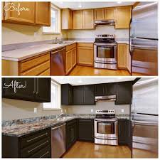 paint kitchen cabinets before after deductour com