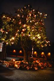 Halloween Tree Lights Blue Ribbon Kitchen Hallowe U0027en At The Greenfield Village The
