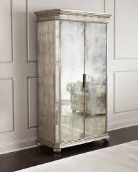 john richard collection lucero mirrored cabinet