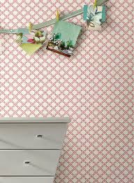 geometric trellis wallpaper in silver and white design by carey