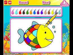 aquarium fish coloring fish games kids girls