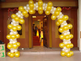 can totally tie balloons of all colors to strings or pvc pipe and