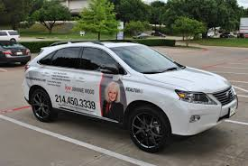 lexus wrapped lexus 350 suv wrap for johnnie wood with keller williams car
