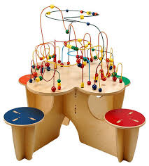 wooden bead toy table wooden bead maze play table wooden designs