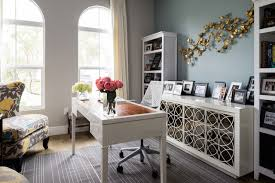 Office Area Rugs Credenza Desk Home Office Transitional With Area Rug Beams