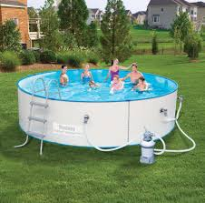 Backyard Inflatable Pool by Product Family Above Ground Pools