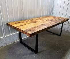 table cuisine en bois table bois cuisine gallery of la cuisine avec lot central ides de