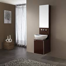 Floating Bathroom Sink by Bathroom Floating Bathroom Sink Vanity Made Of Brown Wooden