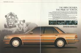 vintage toyota 1989 toyota cressida automobile original 1988 vintage color