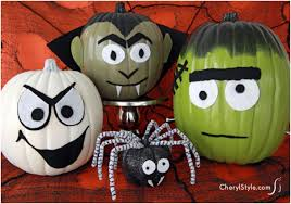 Halloween Pumpkin Decorating Ideas Top 10 Halloween Pumpkins Without Carving Top Inspired