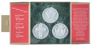 because of bethlehem ornament set lucado max 0081983590139