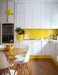 Modern Kitchen Accessories Dining Room Modern Yellow Kiftchen Accessories On White Modern