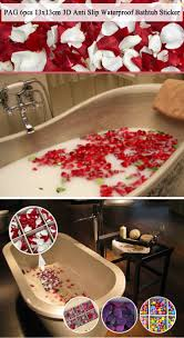 pag 6pcs 13x13cm dolphin pattern 3d anti slip waterproof bathtub