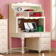 computer desk with shelves white desks furniture decor showroom
