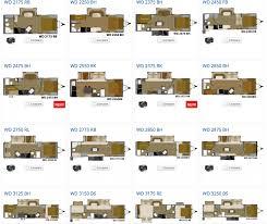 our lightweight wilderness travel trailers offer 10 floorplans