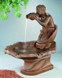 340 best fountains images on garden fountains
