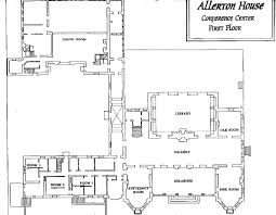 allerton floor maps