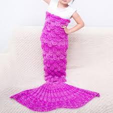 mermaid blankets cheap knitted mermaid blankets for