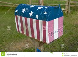Mailbox Flag Us Flag Mailbox Editorial Photography Image Of Residential 23179427